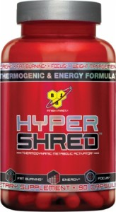 BSN Hyper Shred fat burner