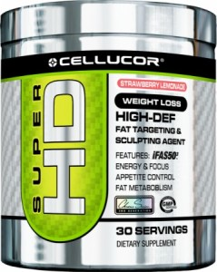 Cellucor Super HD fat burning supplement