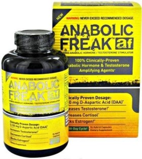 anabolic freak test booster