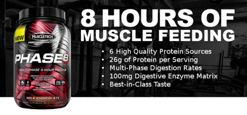MuscleTech Phase8 product review