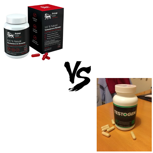 Prime Male vs. Testogen - Which Test Booster Is Better?