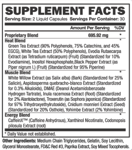 thermakor ingredient list