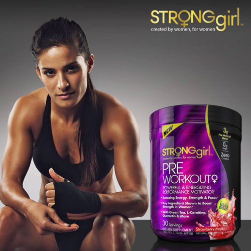 stronggirl pre workout review