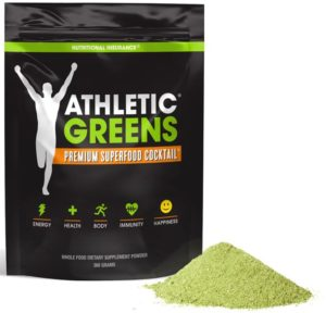 Athletic Greens superfood drink