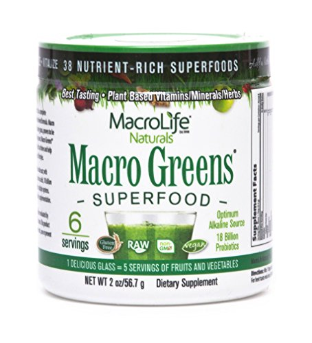 Macro Greens Superfood supplement