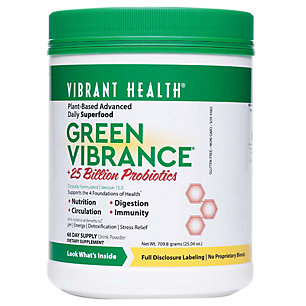 green vibrance superfood powder