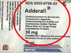"If the label of ingredients on the Adderall pack says ""singel entity,"" that's a tip-off for trouble."