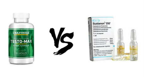 Testo-Max vs  Sustanon - Which One Wins?