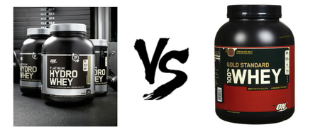 Whey isolate vs whey